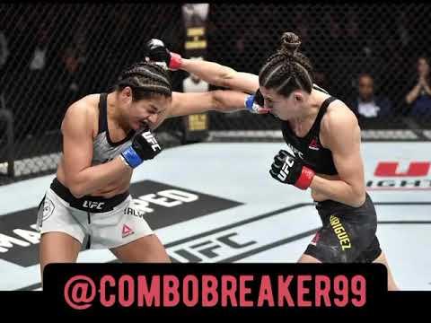 Cynthia Calvillo vs. Marina Rodriguez post fight #thefightfront #nofightfootage