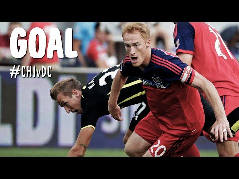 Video: PK GOAL: Jeff Larentowicz capitalizes on a penalty | Chicago Fire vs. D.C. United