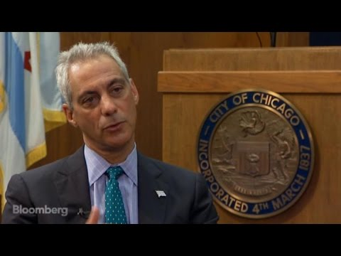 chicago - Aug. 27 (Bloomberg) -- Chicago Mayor Rahm Emanuel, former White House Chief of Staff for the Obama administration, discusses why he's betting on the city's tech sector with a startup incubator....
