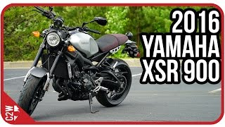 10. 2016 Yamaha XSR 900 | First Ride