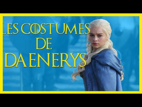 L'évolution des costumes de Daenerys