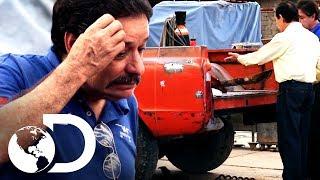 Cliente se enoja al ver camioneta dañada   Mexicánicos   Discovery Latinoamérica