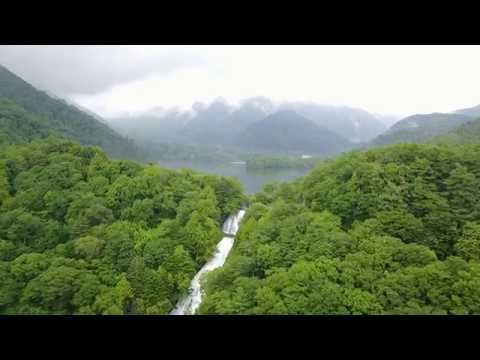 夏の奥日光ドローン空撮【湯滝から湯ノ湖】