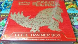 Video Ouverture d'un Elite Trainer Box PRIMO GROUDON ! Un Coffret Pokémon ULTIME ! MP3, 3GP, MP4, WEBM, AVI, FLV Juni 2017