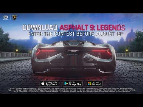 Asphalt 9 & Lamborghini Contest – Win a trip to Italy!