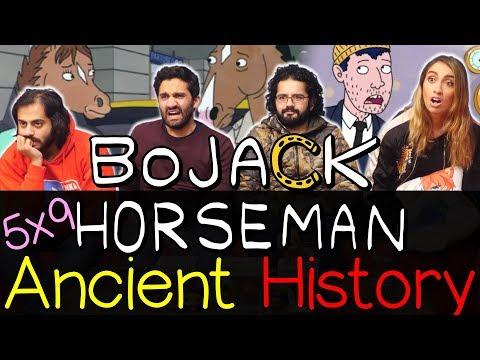 Bojack Horseman - 5x9 Ancient History - Group Reaction