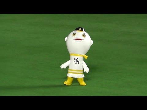 軟銀鷹吉祥物《氣球先生(ふうさん)》棒球界也開始走噁心可愛路線了嗎...