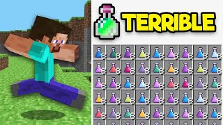 Minecraft Top 5 REMOVED Features That SUCKED