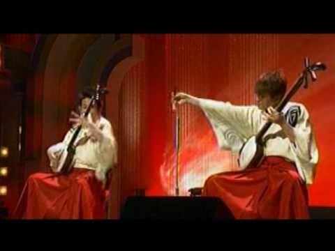 YOSHIDA BROTHERS -- Kodo:  Shamisen (Tsugaru-Jamisen)