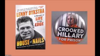"Also hear: ""Lenny Dykstra grossed out by idea of sex with Hillary Clinton (from Howard Stern interview, 6/28/16)"" ... https://www.youtube.com/watch?v=SmZOCuyzRJQPart of 3-part interview of Lenny Dykstra by Adam Taxin on ""Backlash"" on Shark Nation Radio. For full shows: https://soundcloud.com/user-727083642/"