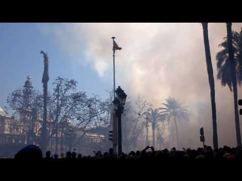Valencia  Mascletà  Fallas 2010 (15 de Marzo) Terremoto Final // Full HD