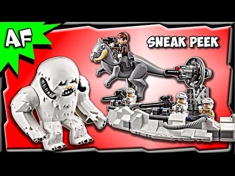 Vidéo LEGO Star Wars 75098 : L'attaque de Hoth