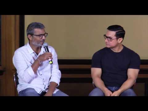 Dangal Promotion - Aamir Khan   Fatima Sana Shaikh   Sakshi Tanwar   Sanya Malhotra