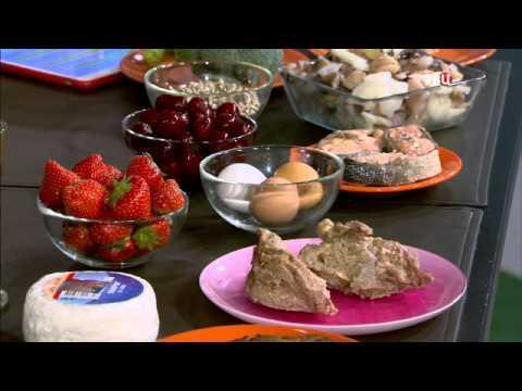 Анна Чайкина в эфире программы Настроение на ТВЦ   10 молодильных продуктов (видео)