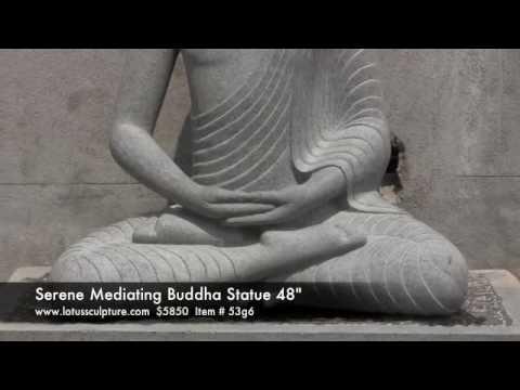 Custom Serene Buddha Statue 48