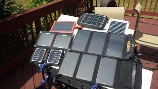 Portable Folding Solar Panel Chargers Tested The Results