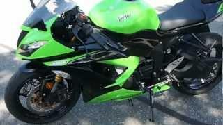 8. 2013 Kawasaki Ninja 636 ZX-6R Walkaround Video