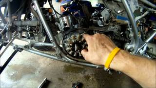 7. Yamaha Banshee Engine Disassembly Part 1 of 2
