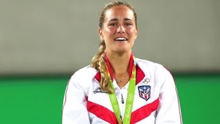 Monica Puig became the first Olympic individual gold medalist in Puerto Rico's history . CNN's Christina Macfarlane discusses the 22-year-old triumph.