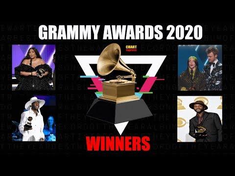 Grammy's 2020 - ALL WINNERS | The 62th Grammy Awards 2020 | Jan 26th, 2020 | ChartExpress
