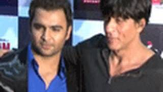 Shahrukh Khan At The Premiere Of 'Aazaan'