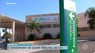 Pacientes de Marília sofrem com a falta de leitos de UTI covid, eles tem esperado por vaga