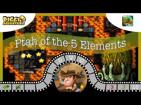 [~Dragon Of Wood~] #10 Path Of The 5 Elements - Diggy's Adventure