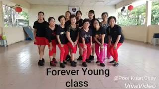 Kickick Line Dance  - 拥抱你离去 Demo by Forever Young class