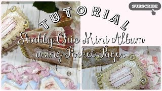 Shabby Chic Mini Album Tutorial using pocket pages. In this shabby chic mini album tutorial you'll learn how to use the Spellbinders Tammy Tutterow Paper Bag Envelope die set to make beautiful pocket page mini albums.  To enter to win the mini album I make in this tutorial, please visit my blog post and leave me a comment there. Please ensure that you let me know what you go by on youtube so that I may check to see if you're a subscriber, when I hold the drawing. This giveaway is held by me, and me alone; and neither YouTube nor Spellbinders nor Tammy Tutterow are responsible for the outcome of this giveaway.  This giveaway is open to ALL of my subscribers and you must be 18 years or older to enter. Winner will be announced in a week's time. Thank you for your support.   You can enter to win this Shabby Chic Mini Album here: http://www.decor8yourlife.com/shabby-chic-mini-album-tutorial/Supply List:Mini Album Pages - Spellbinders Designer Series Paper Bag Envelope by Tammy Tutterow S6-118  http://shrsl.com/jacaTag Toppers - Spellbinders Shapeabilities Victorian Medallion Two S4-443   http://shrsl.com/jacfCat on Page one - Spellbinders Die D-Lites Purrfect S3-214  http://shrsl.com/jachDoily on page one - Spellbinders Shapeabilities Parisian Motifs S5-035 Small Tag on Page two & frame on page three - Spellbinders Die D-Lites Swirl Delight S2-142   http://shrsl.com/jackPage four large corner embellishments - Spellbinders Die D-Lites Garden Weave S2-006   http://shrsl.com/jacmVertical Frame on Page five - Spellbinders Die D-Lites Reflection S2-145   http://shrsl.com/jacqBeautiful Flourish Corners on Cover and on back of Pages three and four - Spellbinders Die D-Lites Victoria Corners S2-134   http://shrsl.com/jacwPoinsettia Flower on first page - Spellbinders Holiday Layered Poinsettia S5-055  http://shrsl.com/jad0Beautiful rectangular frame on Front Cover - Spellbinders Die D-Lites Frame One S2-001  http://amzn.to/2vC1SHxEmbellishments used on front cover - A gilded Lif