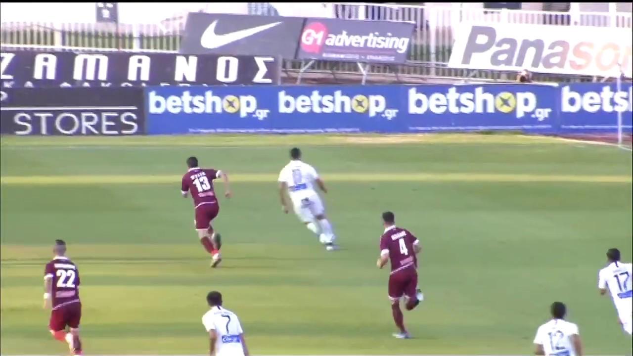 Super League : ΑΤΡΟΜΗΤΟΣ – ΑΕΛ | ΓΚΟΛ 1-0 | 29/06/2020 | ΕΡΤ