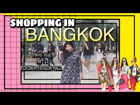 Shopping In Bangkok, Thailand #1 | Platinum Fashion Mall | Farida Vlogs Part 1 | Bangkok Travel Vlog
