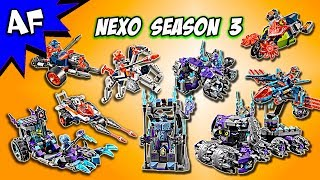 All Lego Nexo Knights Season 2 sets together - Full Compilation! Click on time stamps below to watch a specific set: 0:07 - King's ...