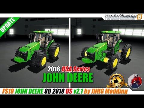 John Deere 8R US Series 2018 v3.1