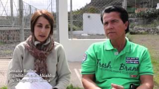 Pulsa para ver el vídeo - Onalia Bueno les acerca la realidad sobre la red de saneamiento de Barranquillo Andrés y Soria.