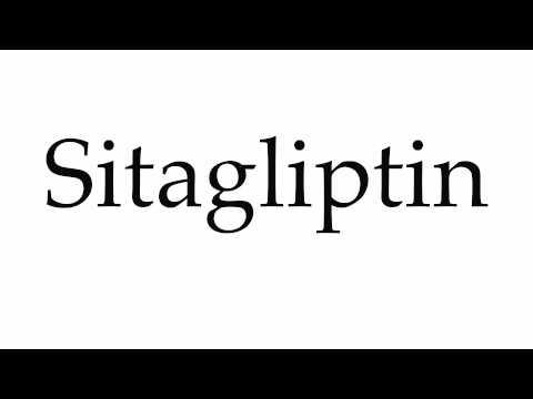 How to Pronounce Sitagliptin
