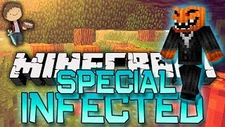 HALLOWEEN WEEK! Minecraft: Infected Special Halloween Edition! w/Mitch&Jerome!