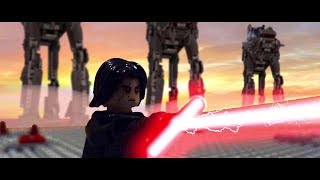 Video LEGO Star Wars The Last Jedi:  Luke Skywalker vs. Kylo Ren on Crait [Shot for Shot]... MP3, 3GP, MP4, WEBM, AVI, FLV Juni 2018