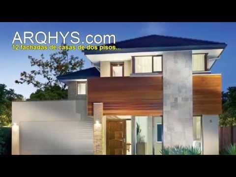 Dise os de fachadas de casas de dos pisos videos for Como disenar una casa de dos pisos