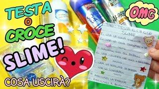 TESTA O CROCE SLIME (COSA USCIRÁ?) Video TAG || Iolanda Sweets