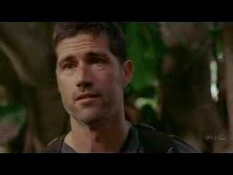LOST Season 4, Ep 6: Jack/Kate scene in the jungle