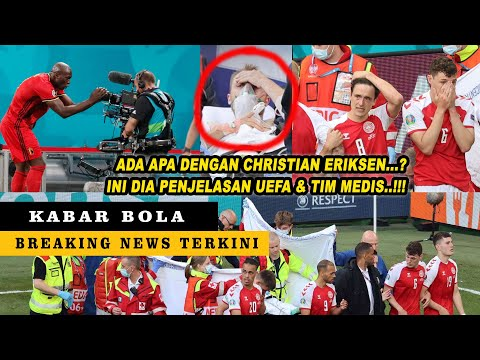 Merinding , Persembahan Gol Romelu Lukaku untuk Christian Eriksen | BERITA BOLA TERBARU HARI INI