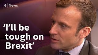 "Video Emmanuel Macron interview (English): Getting ""tough"" on Brexit MP3, 3GP, MP4, WEBM, AVI, FLV Agustus 2017"