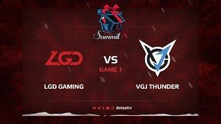 LGD Gaming против VGJ.Thunder, Первая карта, Квалификация на Dota Summit 8