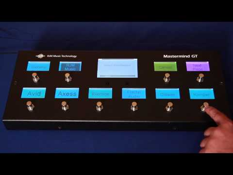 profilling - This video shows you how to set up a Mastermind GT MIDI Foot controller to control a Kemper Profiling Amp. It shows how to set up preset access, control of i...