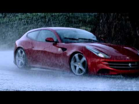 Ferrari FF offroad in the mountains