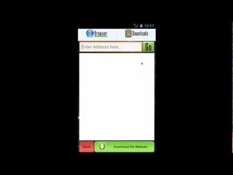 Video of Website Downloader