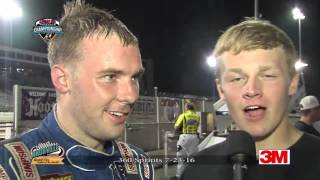 Knoxville Raceway 360 Highlights July 23, 2016
