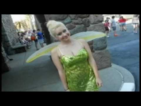 Tinkerbell In Tears After Disney World Trip