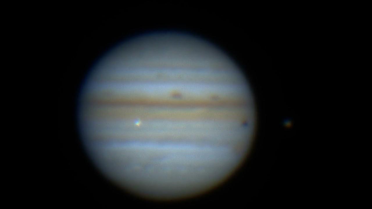 Галактическое ДТП: Безызвестный объект врезался в Юпитер