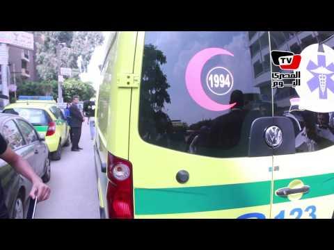 نقل مصاب أثناء استهداف «النائب العام» من مستشفى النزهة إلى مستشفي الشرطة